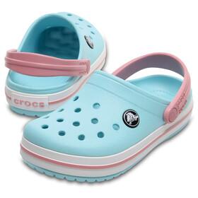 Crocs Crocband Clogs Kids Ice Blue/White